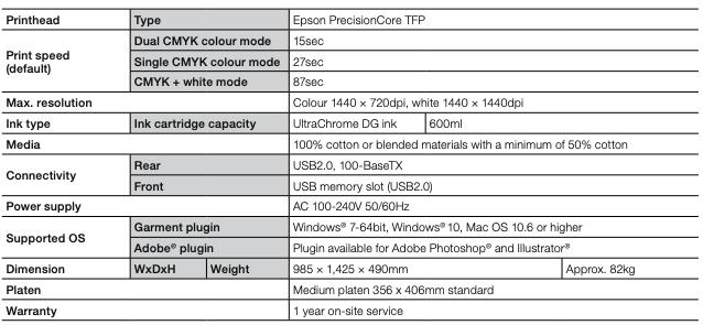 Xpres co uk - Epson SC-F2100 DTG Printer & Pre-treatment Unit Bundle