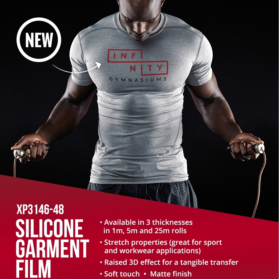 New - Silicone Garment Transfer Film