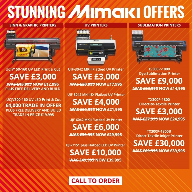 Magical Mimaki Offers