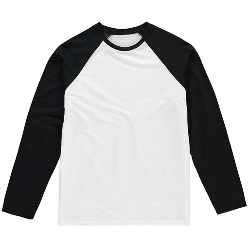Picture of Vanilla Kids Sublimation Baseball T-Shirt - Long Sleeve