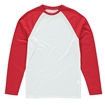 Picture of Vanilla Kids Sublimation Baseball T-Shirt - Long Sleeve
