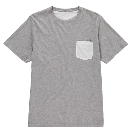Picture of Vanilla Kids Sublimation Pocket Cotton T-Shirt