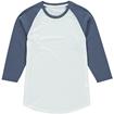 Picture of Vanilla Women's 65/35 Raglan Baseball Tee - 3/4 Sleeve