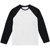 Picture of Vanilla Men's Sublimation Baseball T-Shirt - Long Sleeve