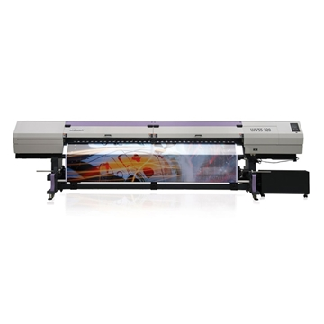 Picture of Mimaki UJV55-320 LED UV Roll-Fed Printer