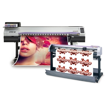 Picture of Mimaki JV150-160/CGFXII-160 Bundle - w/Inks & Take-Up System