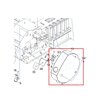 Picture of Roland BN-20 Right hand side cover 1000007746