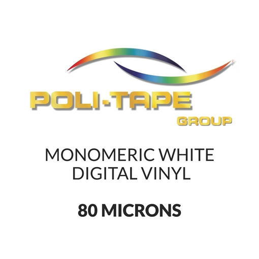 Picture of Poli-Print Mono White Digital - 80mic - 1524mm x 50m