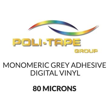 Picture of Poli-Print Mono Digital Vinyl Grey Adhesive - 80mic - 760mm