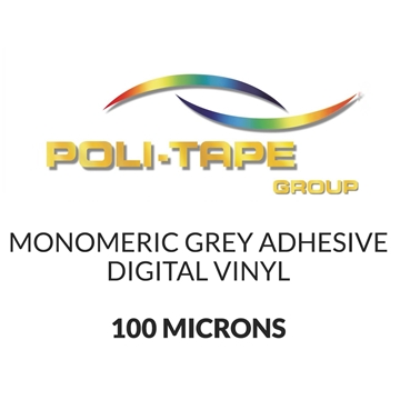 Picture of Mono Digital Vinyl Grey Adhesive - 100mic - 760mm x 50m