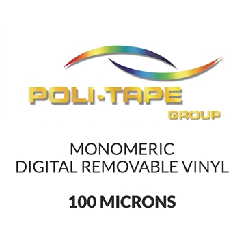 Picture of Poli-Print Mono Digital Removable Vinyl - 100mic 500mm x 25m