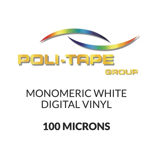 Picture of Poli-Print Mono White Digital Media - 100mic - 2000mm x 50m