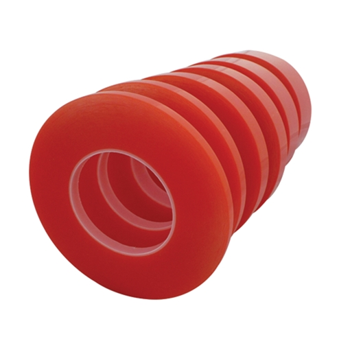 Picture of Double Sided PET Tape - Clear 25mm x 50m Roll