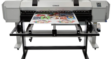 Picture of Mutoh Table Set - Front & Rear for 1617H Hybrid Printer