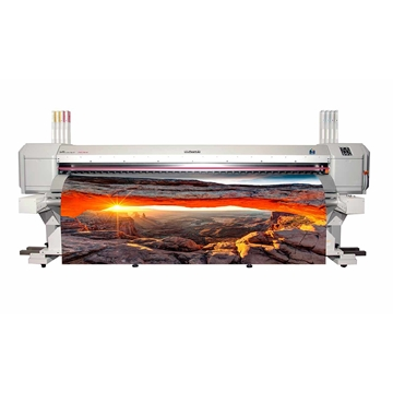 Picture of Mutoh ValueJet 2638X Printer and Take Up Unit