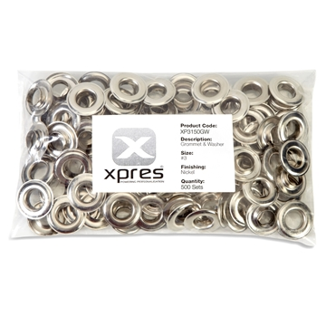 Picture of Grommets and Washers 25mm edge to edge 13mm Inside Diameter