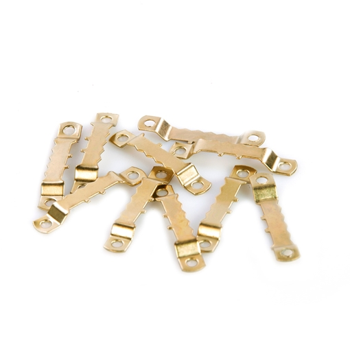 Picture of Brass Plated Sawtooth Hangers 45mm (Pack of 200)