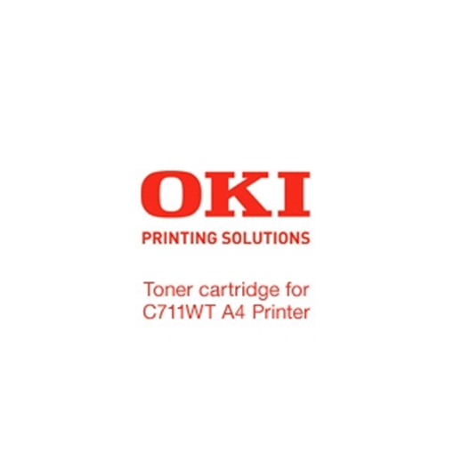 Picture of OKI Toner For OKI C711WT A4 Printer