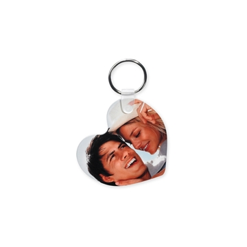 Picture of Unisub Heart Key Ring - 55mm High (Pack of 50)
