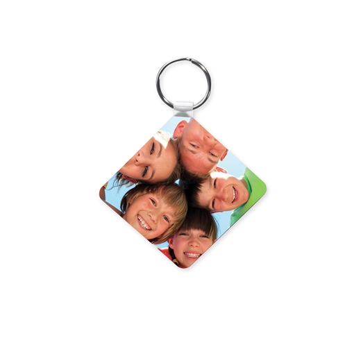 Picture of Unisub Square Key Ring - 58mm x 58mm (Pack of 50)