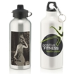 Picture of Aluminium Water Bottle With 2 Cap Styles - 600ml