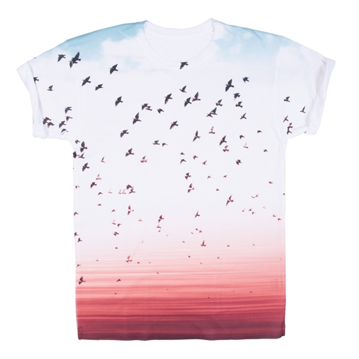 Picture of Subli® Plus T-Shirt (With Removable Label) - 100% Polyester
