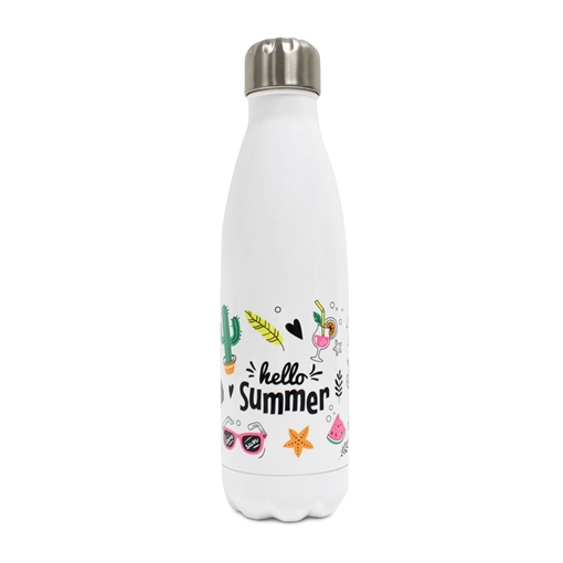 Picture of Stainless Steel Water Bottle Gloss - 500ml / 17oz