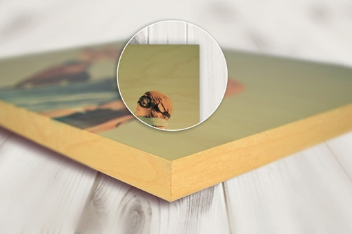 Picture of ChromaLuxe Natural Wood Photo Panel 406 x 508mm (Pack of 5)