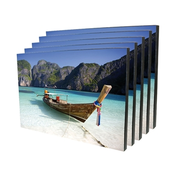 Picture of ChromaLuxe Wood Photo Panel- 18cm x 27cm Rectangle - 10 Pack