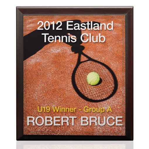 Picture of UniSub Rectangular Plaque For Wall Display 203.2mm x 254mm