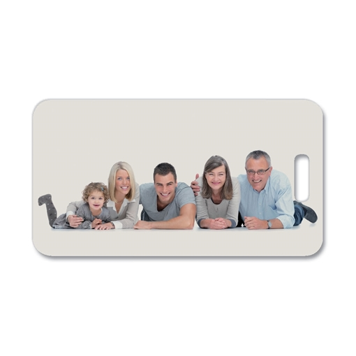 Picture of Unisub Rect. Luggage/Bag Tag - 2-sided - 8x11cm (Pack of 50)