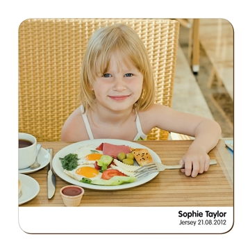 Picture of Unisub Square Hardboard Placemat - 28cm x 28cm