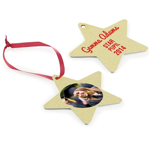 Picture of UniSub Aluminium Star Ornament 2 sided (Pack of 25)
