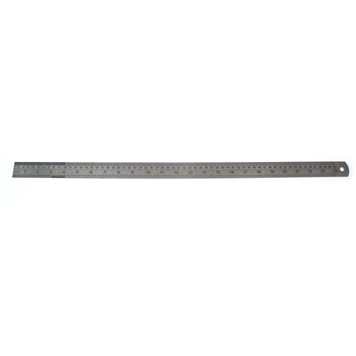 Picture of Metric / Imperial Ruler Stainless Steel 600mm