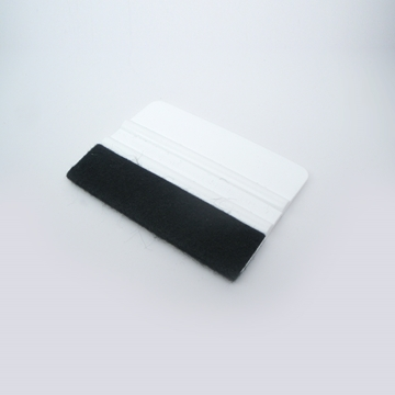 Picture of White Squeegee With Felt Edge 4""