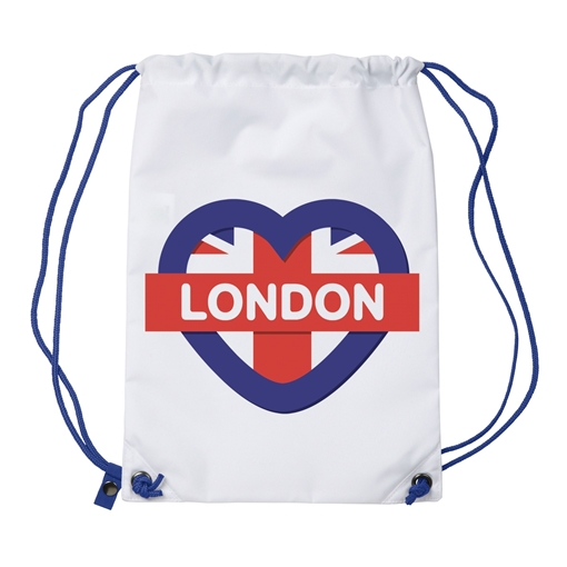 Picture of Sublimation Bag - Gym Sack - 314mm x 458mm (Pack of 10)