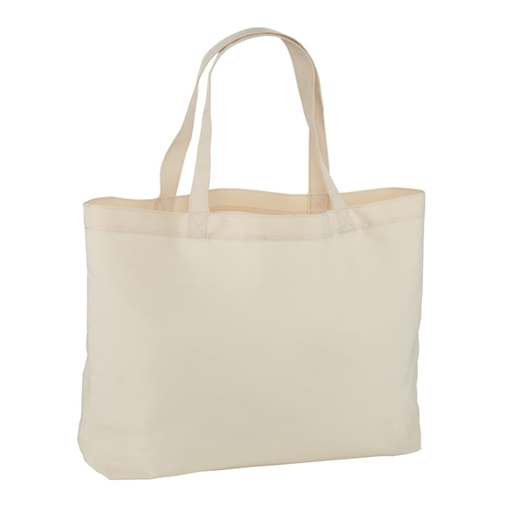 Picture of Tote Bag Natural 165gsm Polyester - 41cm x 48.5cm Pack of 10