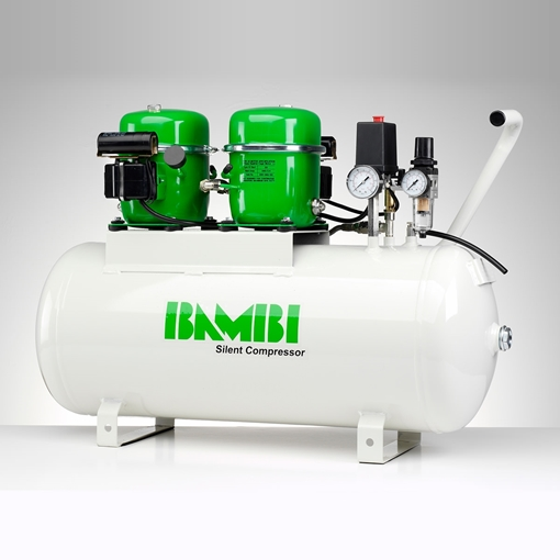 Picture of Bambi - BB50V Silent Compressor (50L) Oil Lubricated