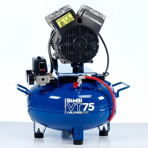 Picture of VT75 Oil Free Ultra Low Noise Compressor (24L)