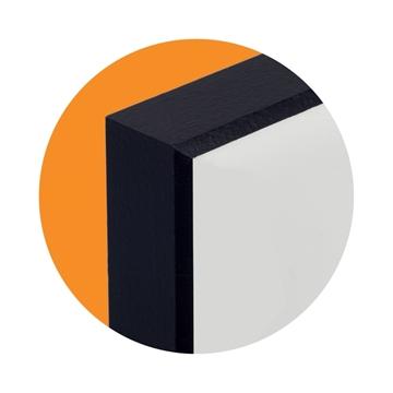 Picture of ChromaLuxe Sheetstock MR Fibreboard - MDF 1-side Black Back