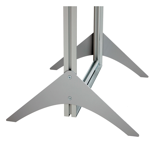 Picture of Primex Foot Delta For DOUBLE Aluminium Profile (Pack of 2)