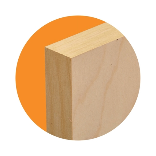 Picture of ChromaLuxe Natural Wood Sheetstock - one Sided - 15.88mm