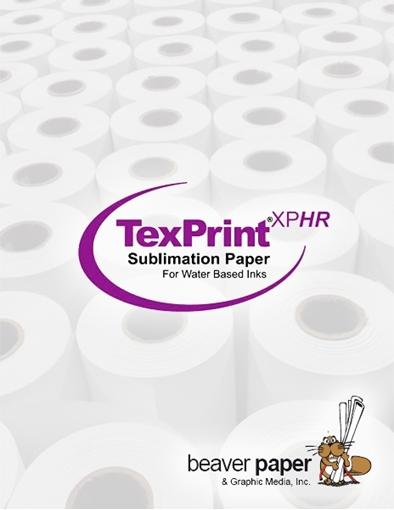 "Picture of Beaver Paper TexPrint XPHR 105 44"" x 84m (3"" core)"