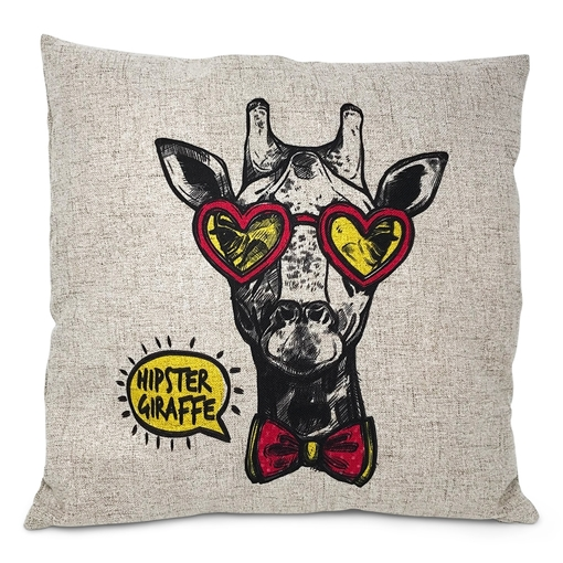 Picture of Cushion Cover Premium Linen Look (Dark) 40x40cm 100% Poly