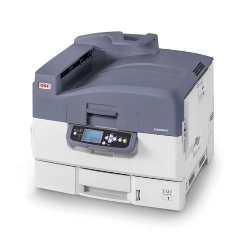 Picture of OKI Laser Printer A3 (C920WT) White Toner