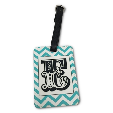 Picture of PU Luggage Tag - Double Sided