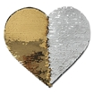 Picture of Sequin Adhesive Patches 19 x 22cm (Rose Gold 10 x 12cm)
