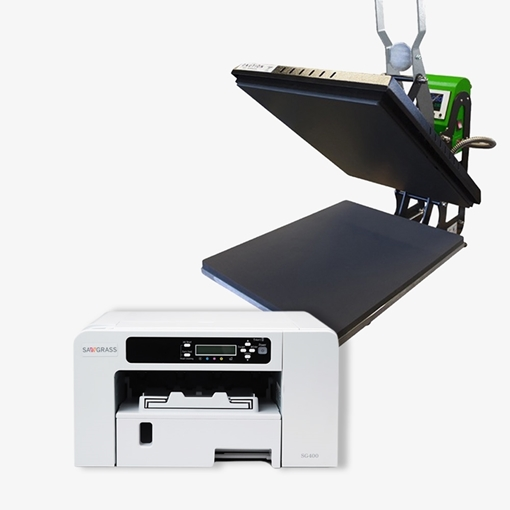 Picture of Xpres Economy Heat Press & SG400 A4 Virtuoso Bundle