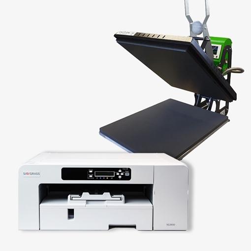 Picture of Xpres Economy Heat Press & SG800 A3 Virtuoso Bundle