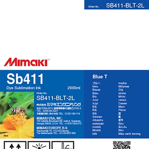 Picture of Mimaki SB411 Dye Sublimation Ink - 2L